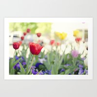 Welcome Spring Art Print