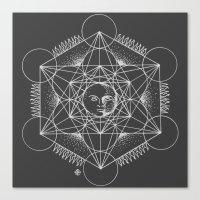Gnostic Shadow Canvas Print