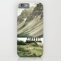 iPhone & iPod Case featuring Banff National Park, Canada by Quyen Nguyen