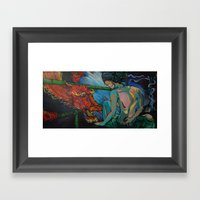 The Last Elder Framed Art Print