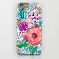 High By The Beach Floral iPhone 6 Slim Case