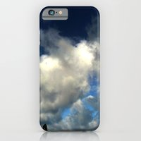 iPhone Cases featuring Angry Sky by lightpainter