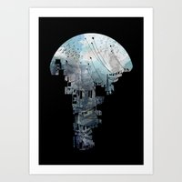california Art Prints featuring Secret Streets II by David Fleck