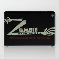 Zombie League Baseball iPad Case
