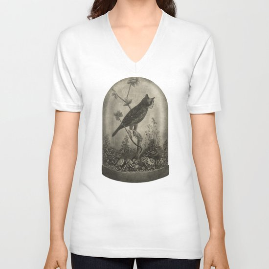 The Curiosity  V-neck T-shirt