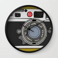 Camera, 2 Wall Clock