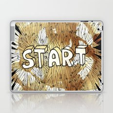 Start. Laptop & iPad Skin