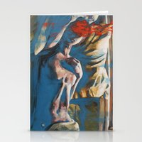 Like A Ghost In A Shell Stationery Cards