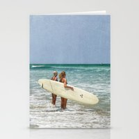 The Girls of Summer Stationery Cards