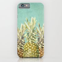 iPhone & iPod Case featuring Pineapple Paradise by Lisa Argyropoulos