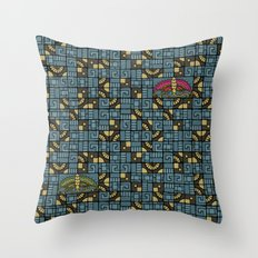 Butterfly's Journey Throw Pillow
