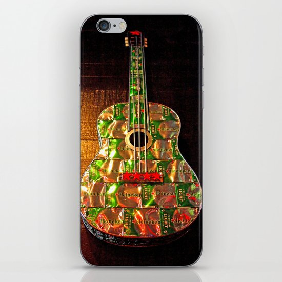 Heineken guitar iPhone & iPod Skin