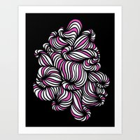 All over the place Art Print