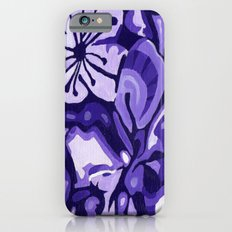 Cherry Blossom (Purple) iPhone 6 Slim Case