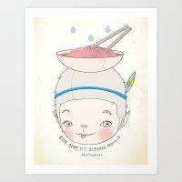 맛! Bon Appetit Bizarre… Art Print