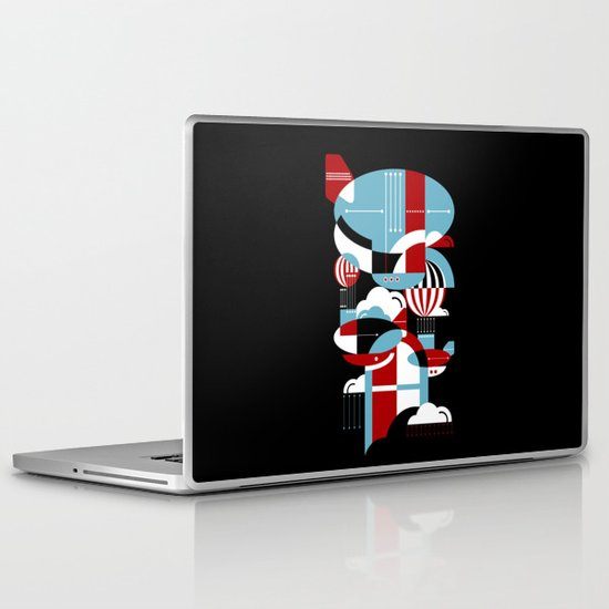 Zeppelins and Balloons Laptop & iPad Skin