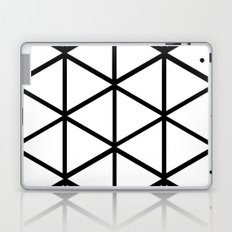 WHITE & BLACK TRIANGLES  Laptop & iPad Skin