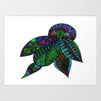 Turtle Beetle Art Print