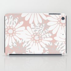 Summer Flowers Pink iPad Case