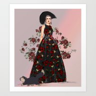 Wicked Mommy  Art Print
