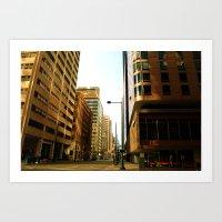 Morning City Sensation Art Print