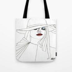 Blue Eyeshadow Tote Bag