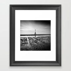 Lines In The Sand Framed Art Print