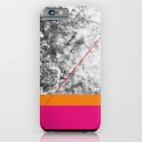Pink And Orange iPhone 6 Slim Case