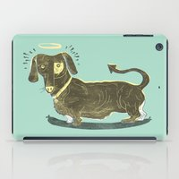 Bad Dog! (The Little Dachshund That Didn't) iPad Case