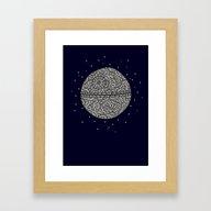 That's No Moon! Framed Art Print