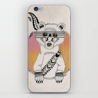 Indian Summer Bear iPhone & iPod Skin