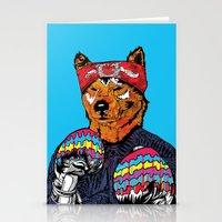 Shiba - The Hustler  Stationery Cards