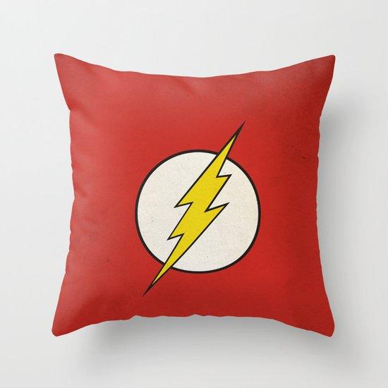 Flash Minimalist  Throw Pillow