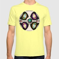 Innerverse Mens Fitted Tee Lemon SMALL
