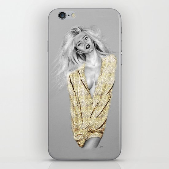 + BAD GIRLS + iPhone & iPod Skin
