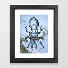 Octopus in the Solomon Sea Framed Art Print