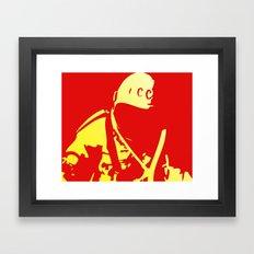 O Kosmonaut! My космонавт! Framed Art Print