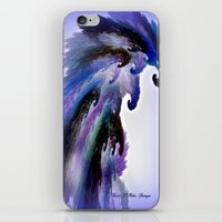PURPLE PARROT PLANET iPhone & iPod Skin