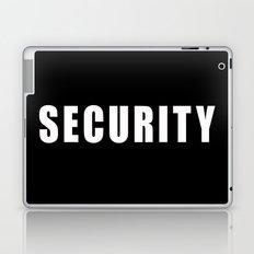 SECURITY TEE SHIRT Laptop & iPad Skin