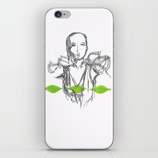 Leaf Lady iPhone & iPod Skin