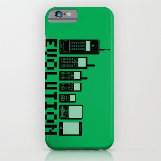 Cell Phone Evolution iPhone & iPod Case