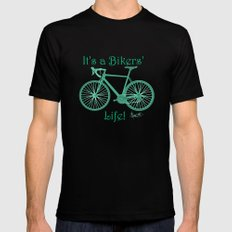 It's a Bikers' Life Mens Fitted Tee Black SMALL