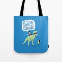 My Car-nivorous Dinosaur Tote Bag
