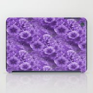 Pansies In Purple.... iPad Case