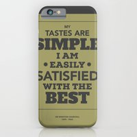 iPhone & iPod Case featuring Satisfied with the best by NeilRobertLeonard