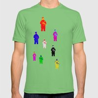 Oi Oi Po Po! Mens Fitted Tee Grass SMALL