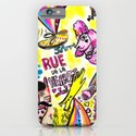 Rue De La Hearts   iPhone & iPod Case