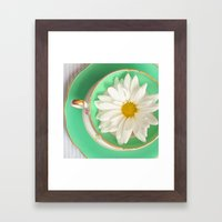 Mint Tea Framed Art Print