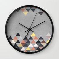 Nordic Combination 14 Wall Clock