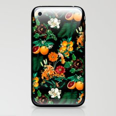 Fruit and Floral Pattern iPhone & iPod Skin